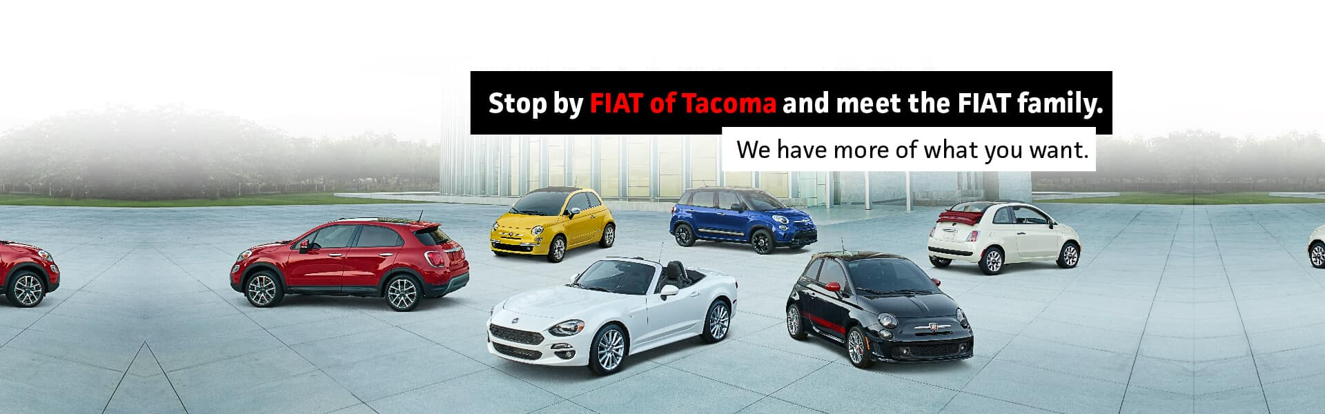 FIAT of Tacoma | New & Used Car Dealer in Tacoma, WA near Lakewood