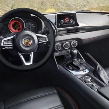 2019 FIAT 124 Spider cockpit
