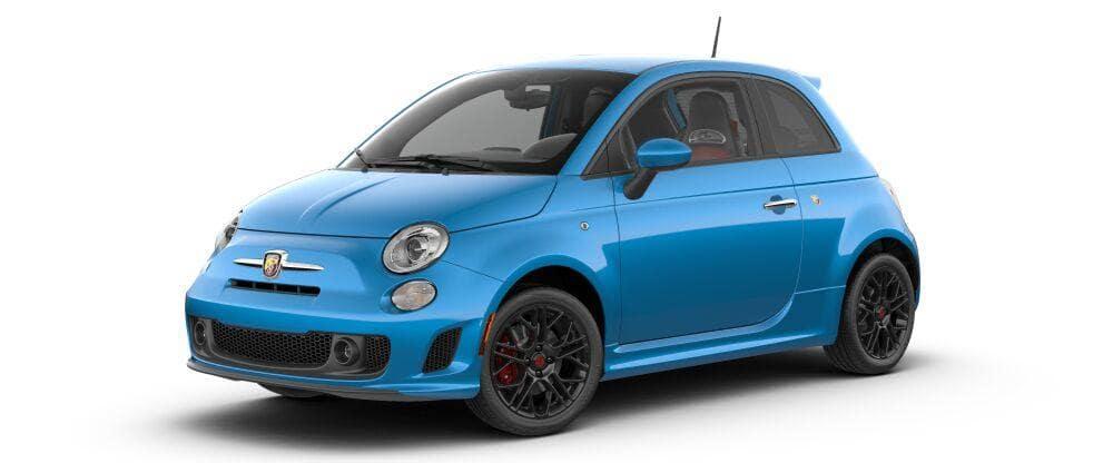 2018 Fiat 500 Abarth Laser Blue Metallic