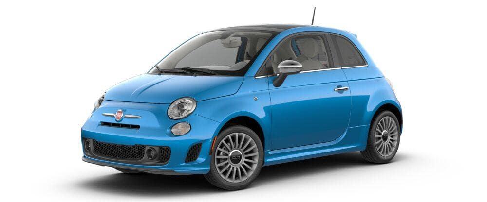 2018 Fiat 500 Lounge Laser Blue Metallic