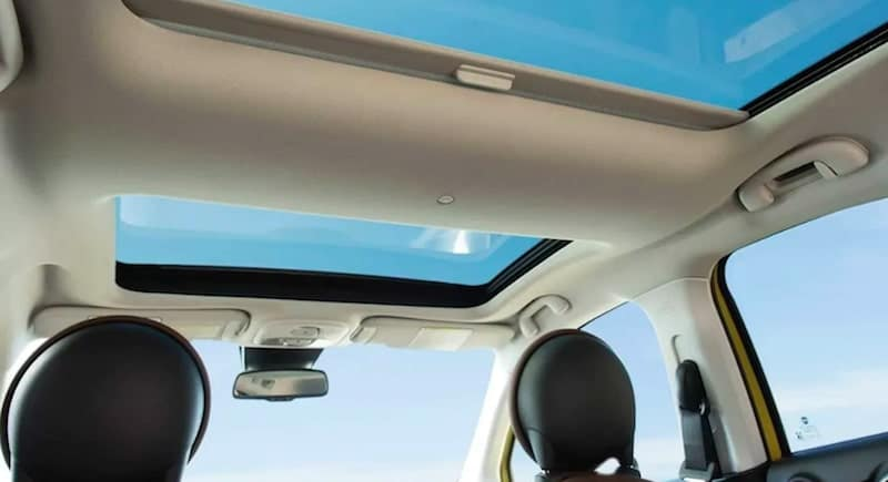 2018 FIAT 500X Sunroof
