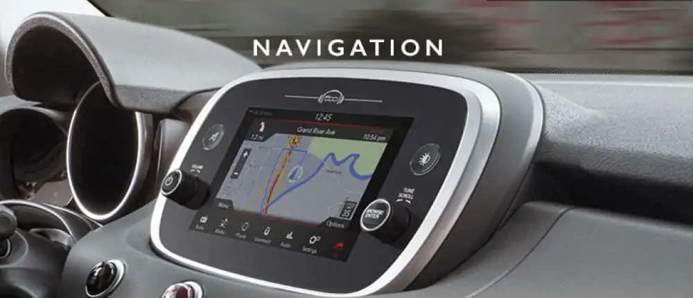 Fiat uconnect navigation
