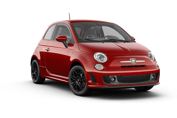 2019 FIAT 500 Abarth Brillante Red