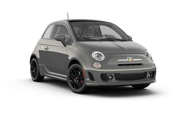 2019 FIAT 500 Abarth Colosseo Gray Clear-Coat
