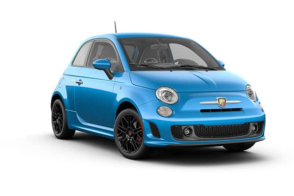 2019 FIAT 500 Abarth Laser Blue Metallic