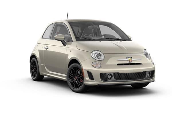 2019 FIAT 500 Abarth Perla White Tri-Coat