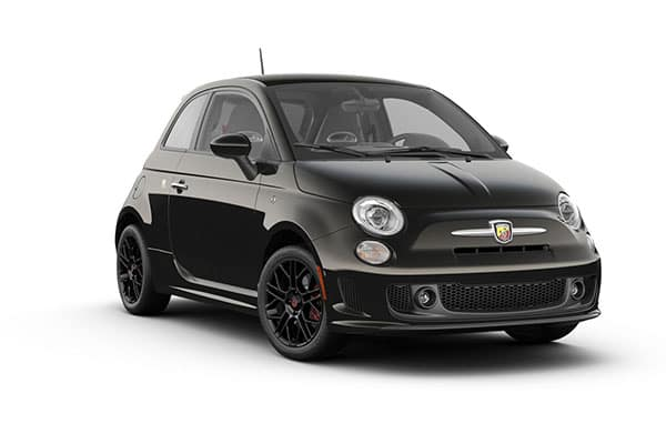 2019 FIAT 500 Abarth Vesuvio Black