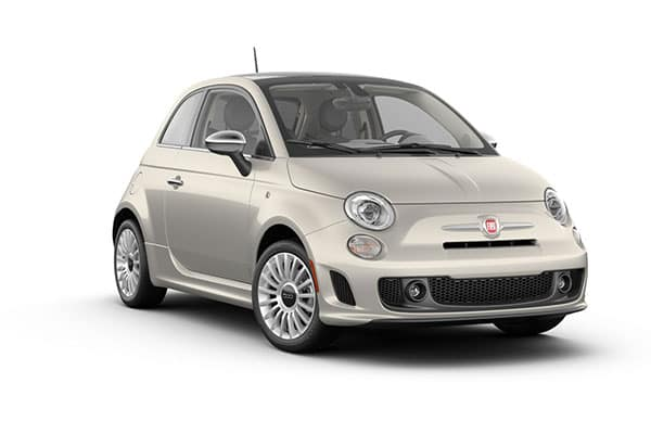 2019 FIAT 500 Lounge Bianco White Ice