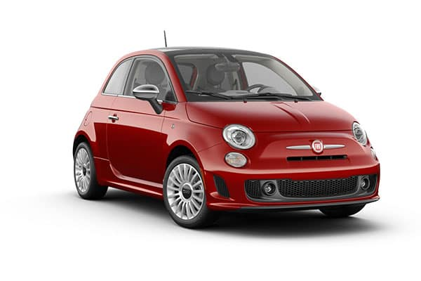 2019 FIAT 500 Lounge Brillante Red