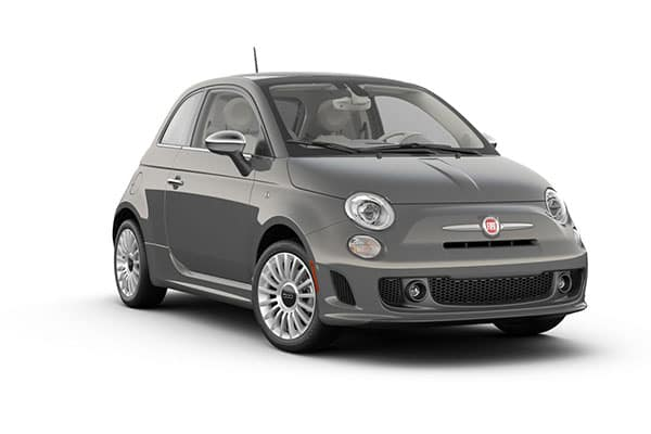 2019 FIAT 500 Lounge Colosseo Gray Clear-Coat