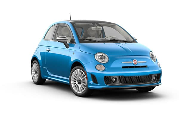 2019 FIAT 500 Lounge Laser Blue Metallic