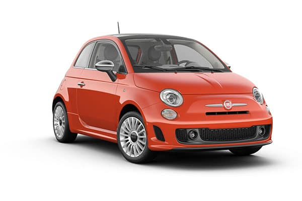 2019 FIAT 500 Lounge Luminosa Orange