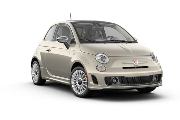2019 FIAT 500 Lounge Perla White Tri-Coat