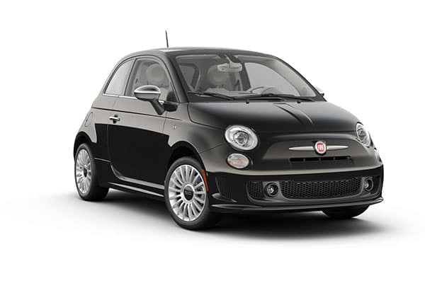 2019 FIAT 500 Lounge Vesuvio Black