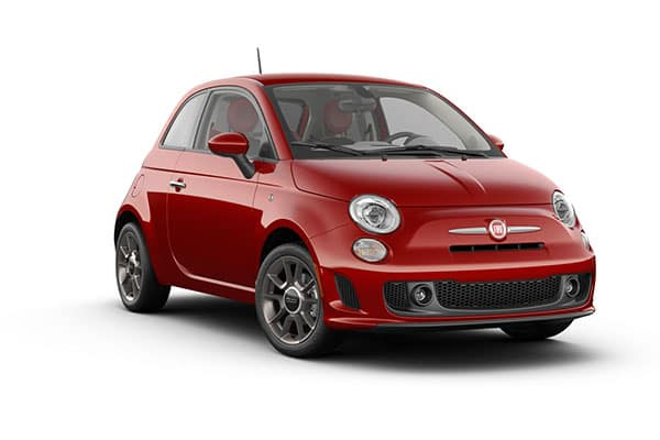 2019 FIAT 500 Pop Brillante Red