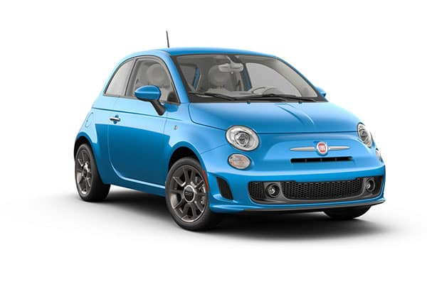 2019 FIAT 500 Pop Laser Blue Metallic