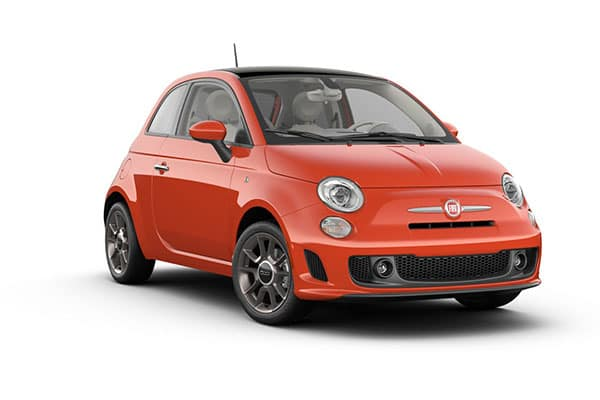2019 FIAT 500 Pop Luminosa Orange