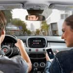 2019 FIAT 500X interior driving