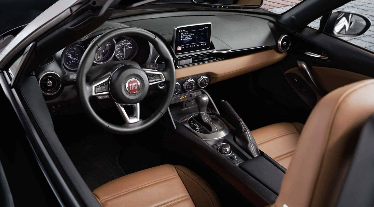 2020 FIAT 124 Spider Lusso interior front seats
