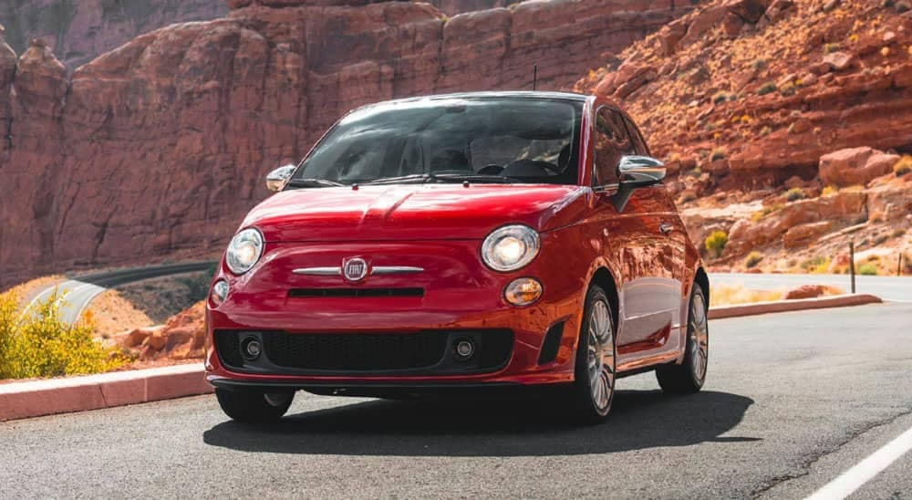 2019 Fiat 500 Driving