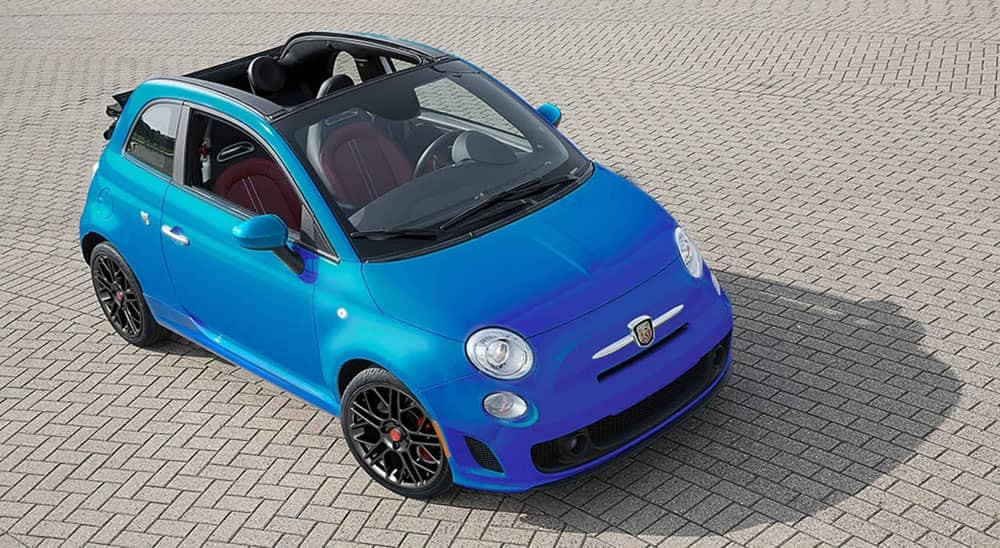 2019 Fiat 500 Top View