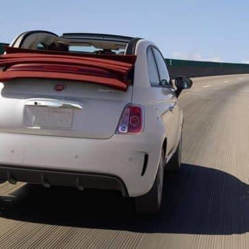 2019 Fiat 500 Rear