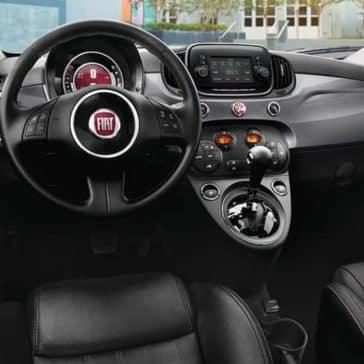 2019 Fiat 500 Dash