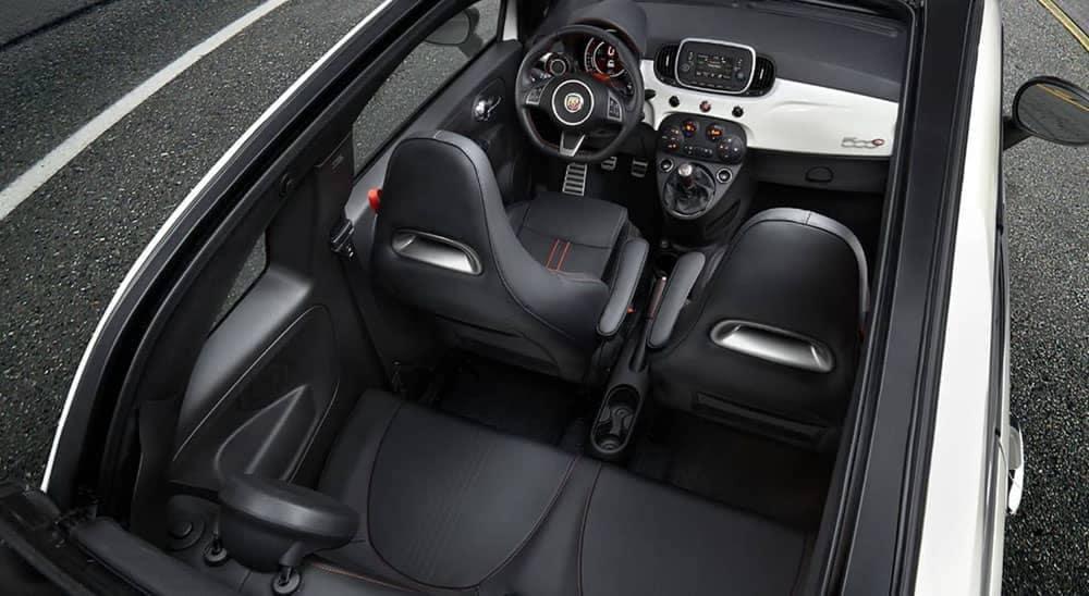 2019 Fiat 500 Interior Space
