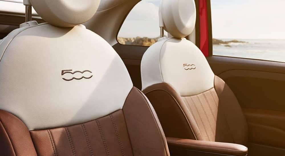 2019 Fiat 500 Seating