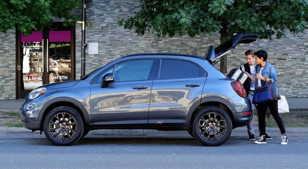 2019 Fiat 500x Trunk Open