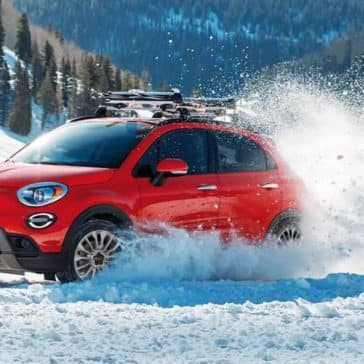 2019 Fiat 500x In The Snow