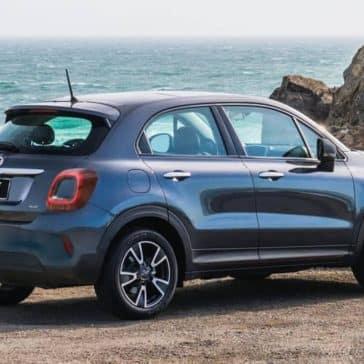 2019 Fiat 500x On The Beach