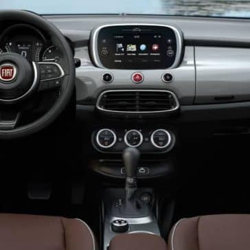 2019 Fiat 500x Dash