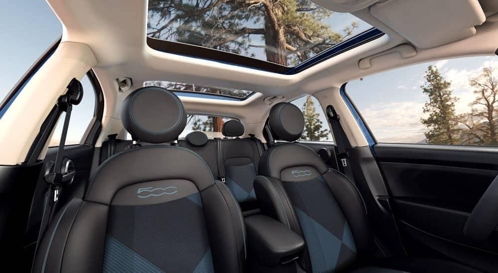 2019 Fiat 500x Seating