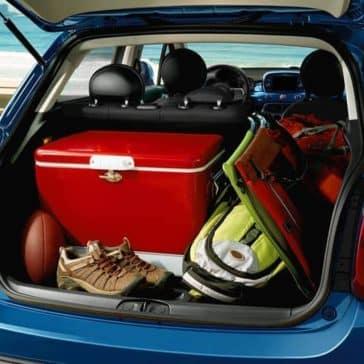 2019 Fiat 500x Trunk Space