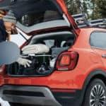 2020 FIAT 500X Trekking Plus cargo