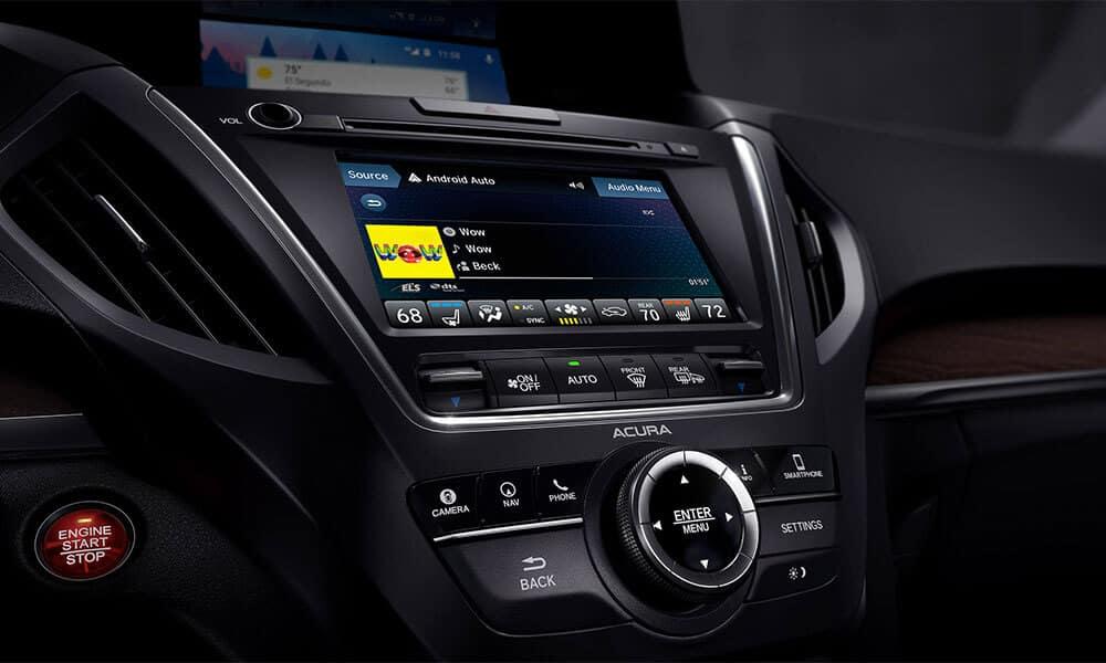 2018 Acura MDX advanced display