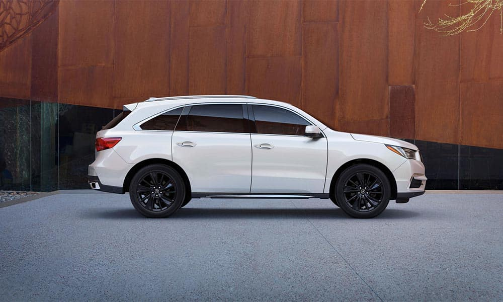 2018 Acura MDX profile view