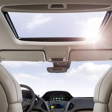 2018 Acura MDX sun roof