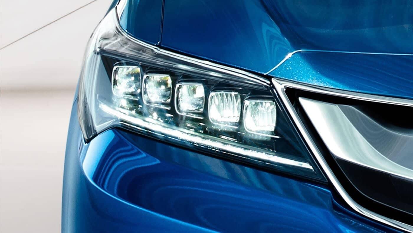 2018 Acura ILX close up of head light
