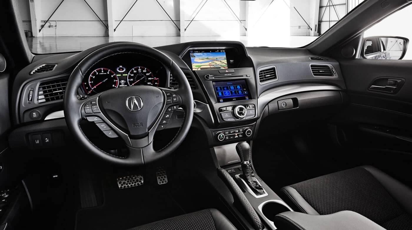 2018 Acura ILX dashboard