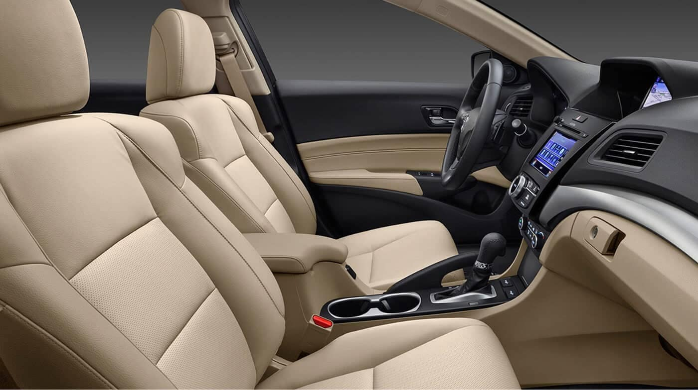 2018 Acura ILX front seating