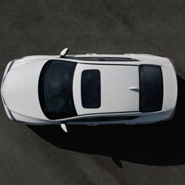 2018 Acura ILX aerial view
