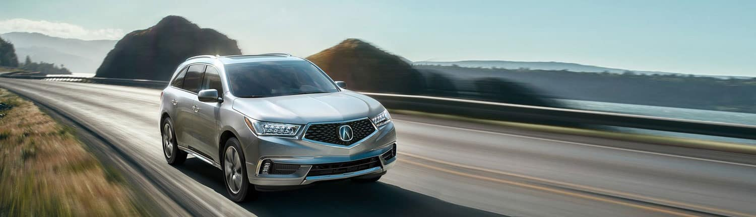 2019 MDX country road