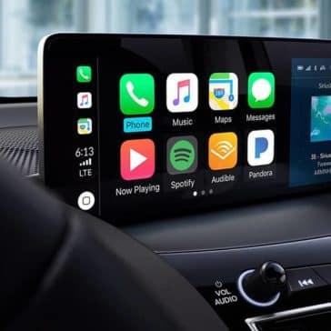 2019 Acura RDX screen technology