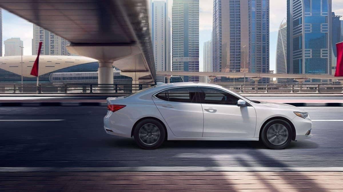 2019 Acura TLX profile view