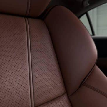 2019 Acura TLX perforated leather seats