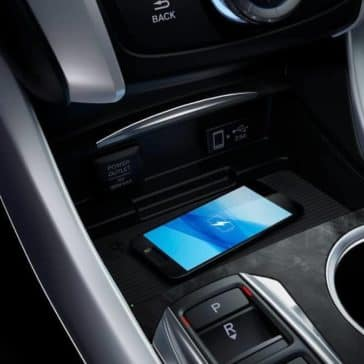 2019 Acura TLX wireless charging