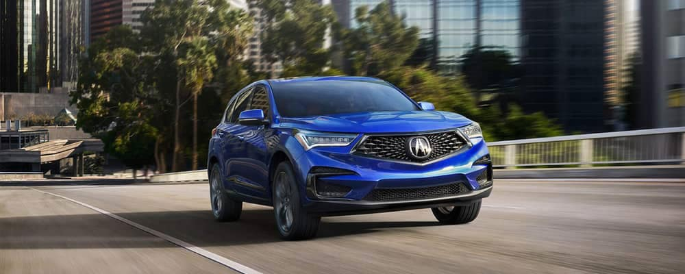 2019 Acura RDX in blue