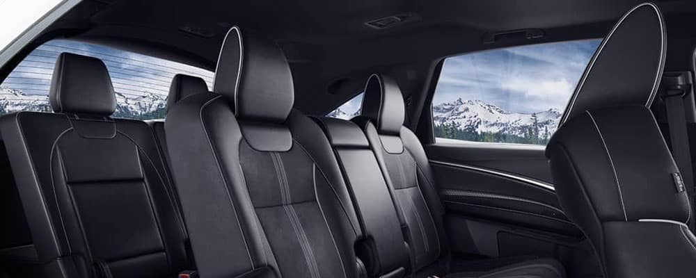 Acura MDX 2019 interior sophisticated seats
